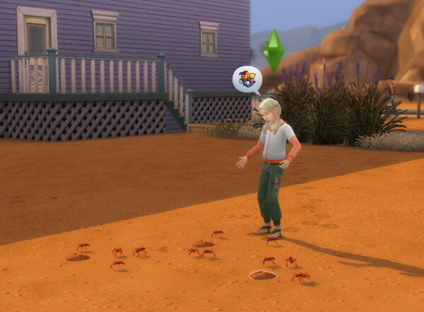 Sim Ants by flerb from Mod The Sims