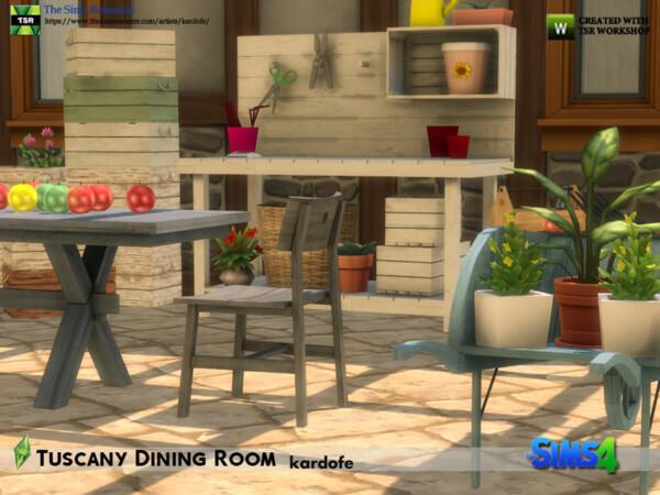 Tuscany Dining Room by kardofe from TSR