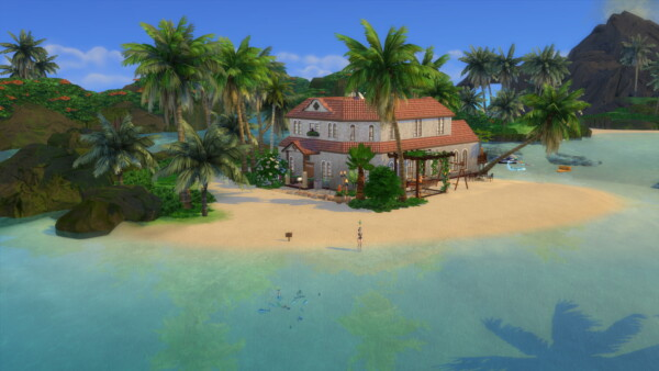 Extreme Challenge renovators home by MegaEmilicorne from Luniversims