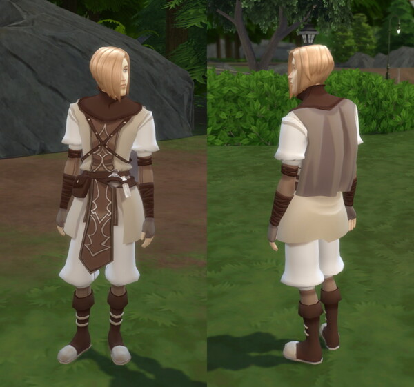 Spellcaster Outfit by kennetha v from Mod The Sims
