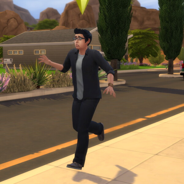 Walk In Style In game walk style chooser by abidoang from Mod The Sims
