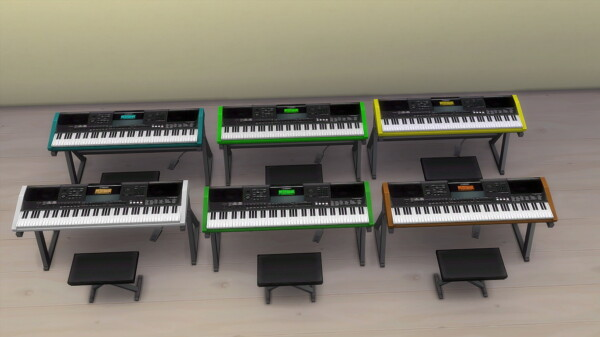 Keyboard by hippy70 from Mod The Sims