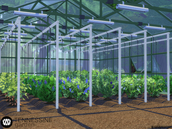 Tennessine Garden Growing Plants by wondymoon from TSR