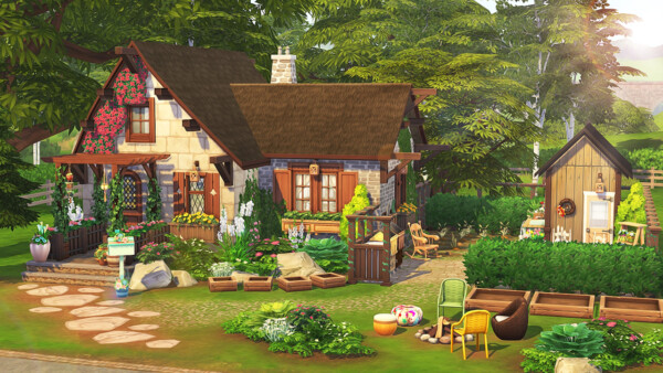 Grandparents dream cottage from Aveline Sims