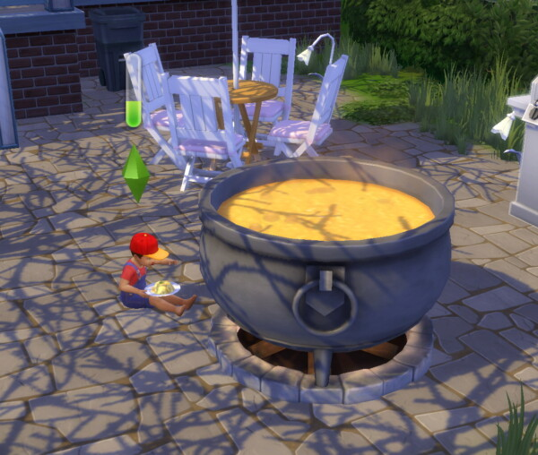 Toddlers can Eat from Cauldrons by Iced Cream from Mod The Sims
