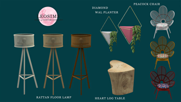 Objects Collection from Leo 4 Sims