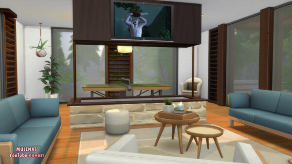 Family Eco House from Sims 3 by Mulena