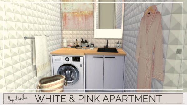 White and Pink apartment from Dinha Gamer