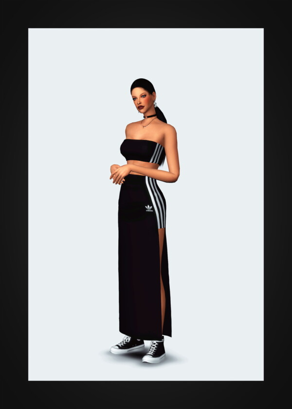 Tube Top and Long Skirt from Gorilla