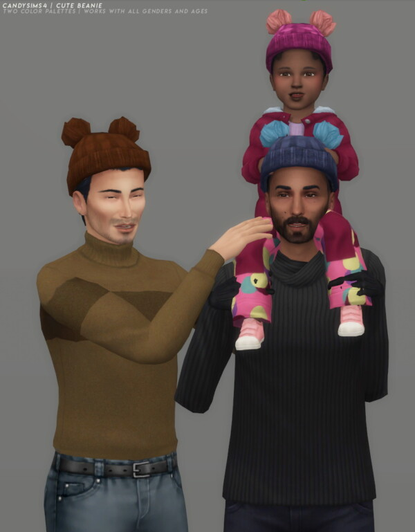 Cute Beanie from Candy Sims 4