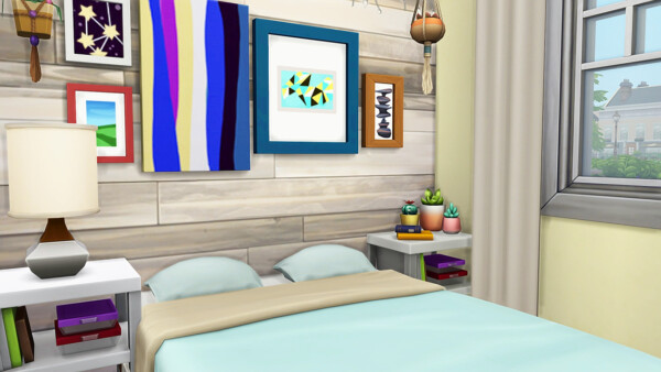 Tiny Home for 8 Sims from Aveline Sims