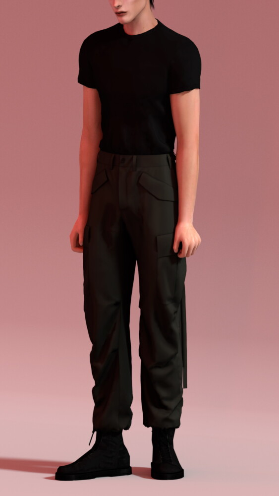 Slim Fit T Shirts and M 65 Field Pants from Rona Sims