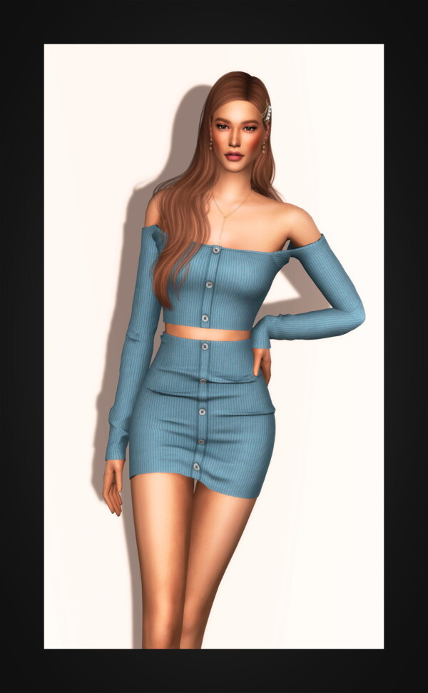 Ribbed Two Piece Mini Dress from Gorilla