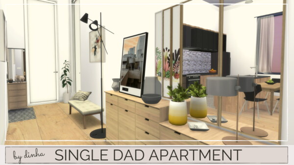 Single Dad Apartment from Dinha Gamer