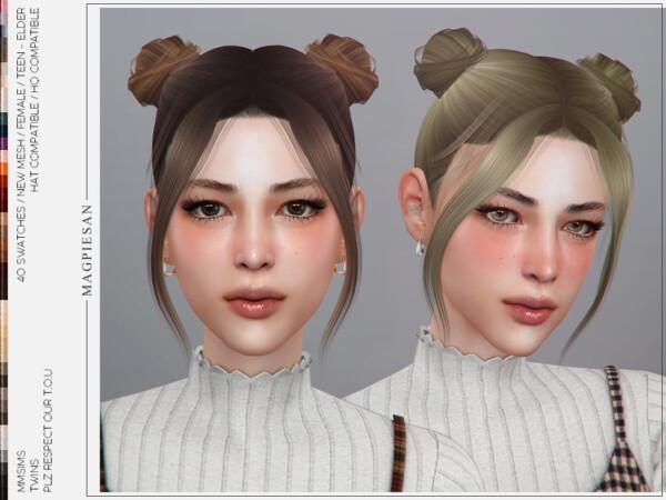 Hair Twins from MMSIMS