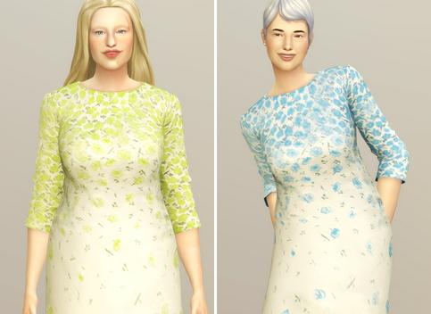 Yellow Floral Dress from Rusty Nail