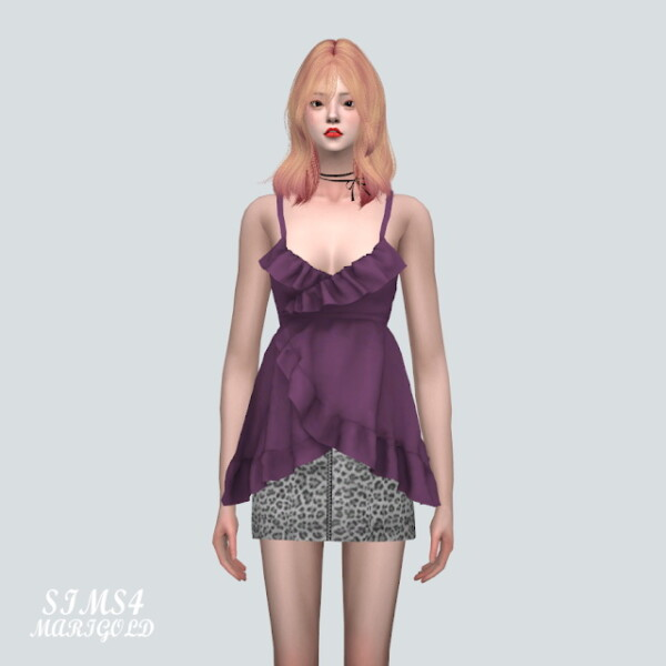 AAA Tulip Bustier from SIMS4 Marigold