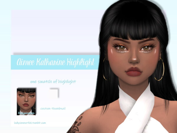 Aimee Katharine Highlight by LadySimmer94 from TSR