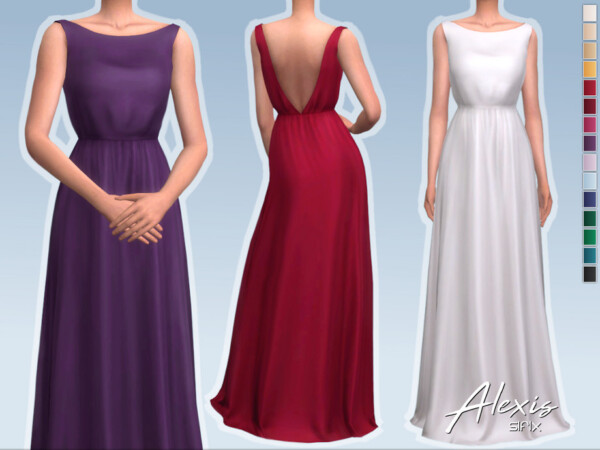 Alexis Dress by Sifix from TSR