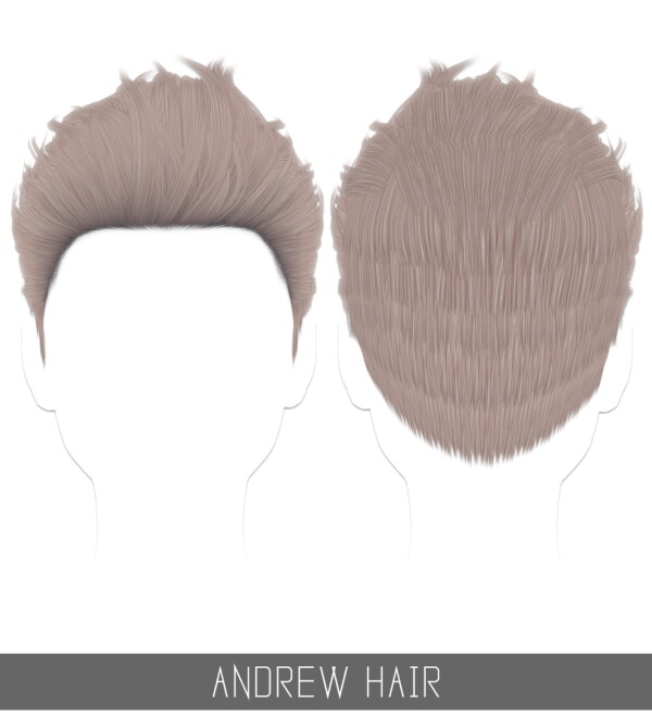Andrew Hairstyle from Simpliciaty