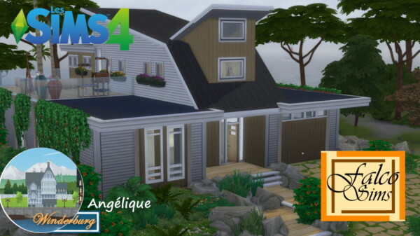 Angelique Home by falco from Luniversims