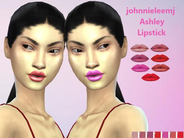 Ashley Lipstick by johnnieleemj from TSR