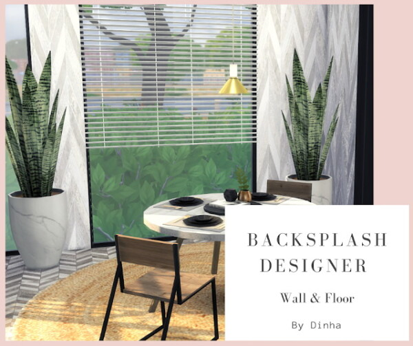 Backsplash Designer from Dinha Gamer
