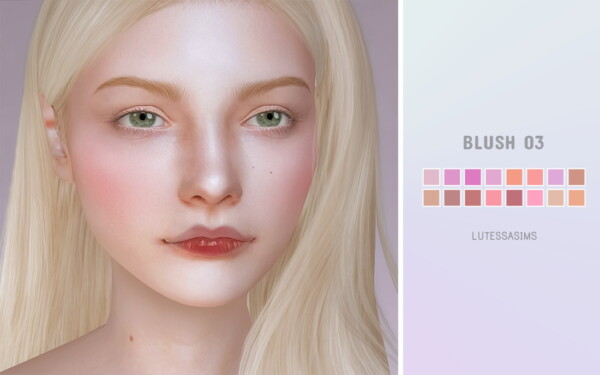 Blush 03 from Lutessa