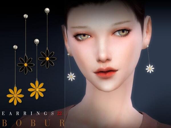 Earrings 22 by Bobur from TSR