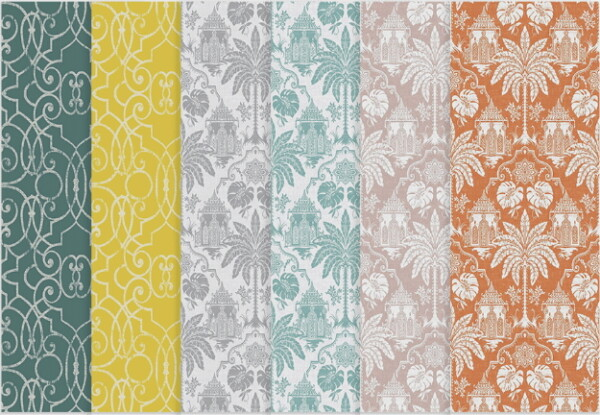Bombay Wallpaper Collection from Simplistic