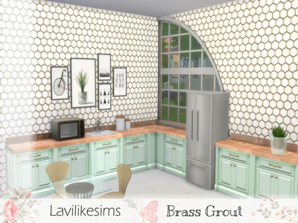 Brass Grout Hexagon bylavilikesims from TSR