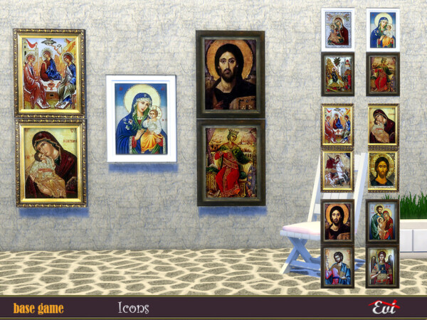 Byzantine Icons by evi from TSR