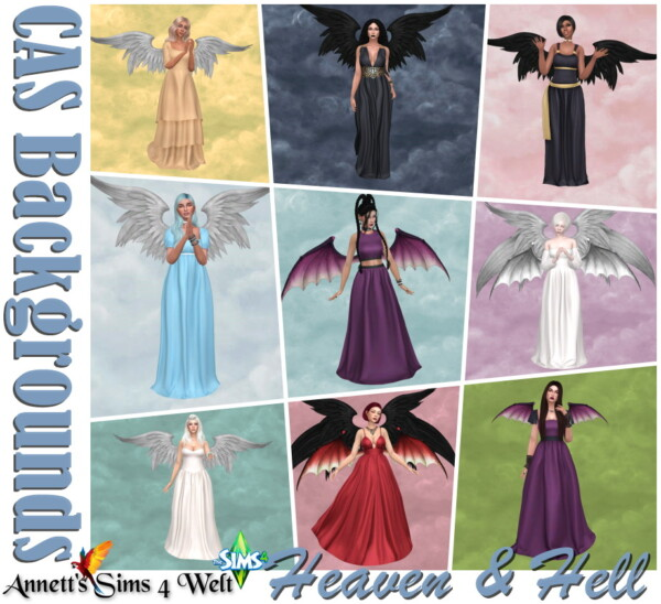 CAS Backgrounds Heaven and Hell from Annett`s Sims 4 Welt