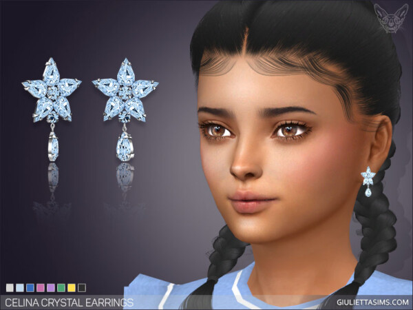 Celina Earrings For Kids from Giulietta Sims