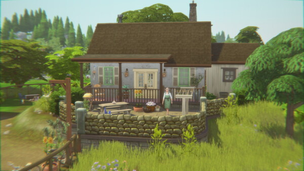 Century Cottage Home from Catsaar