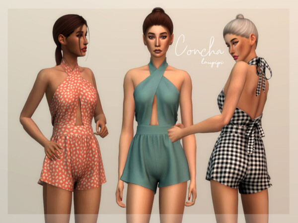 Concha Jumpsuit by Laupipi from TSR