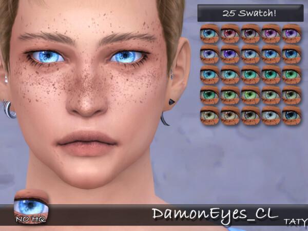Damon Eyes by tatygagg from TSR