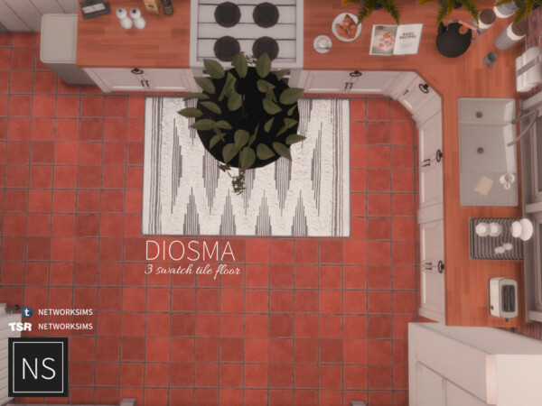 Diosma Tile Floor by networksims from TSR