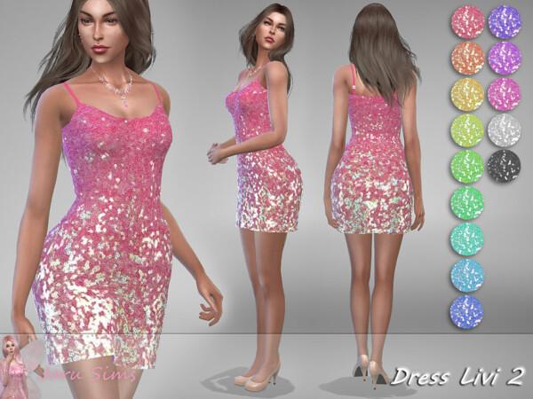 Dress Livi 2 by Jaru Sims from TSR
