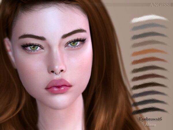 Eyebrows16 Alana by ANGISSI from TSR