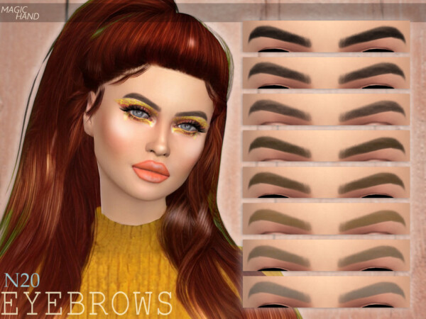 Eyebrows N20 by MagicHand from TSR