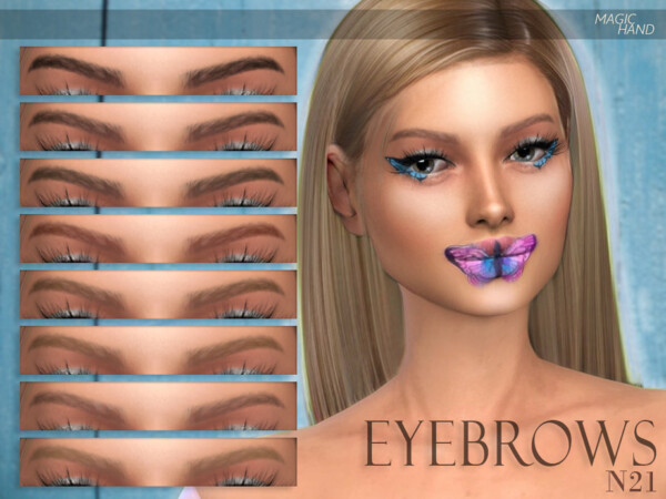 Eyebrows N21 by MagicHand from TSR