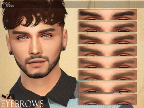 Eyebrows N23 by MagicHand from TSR