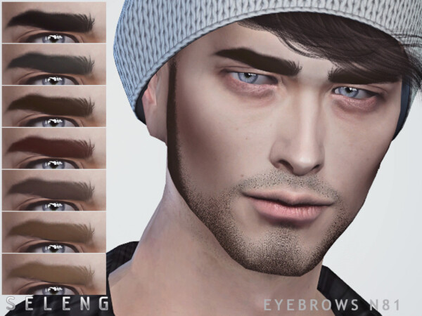 Eyebrows N81 by Seleng from TSR