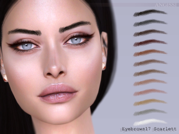 Eyebrows 17 Scarlett by ANGISSI from TSR