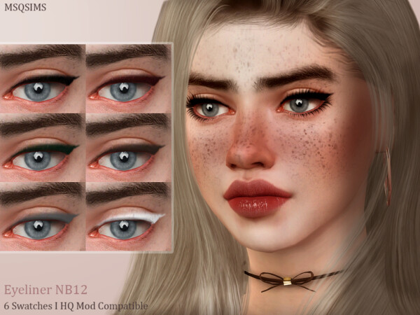 Eyeliner NB12 from MSQ Sims