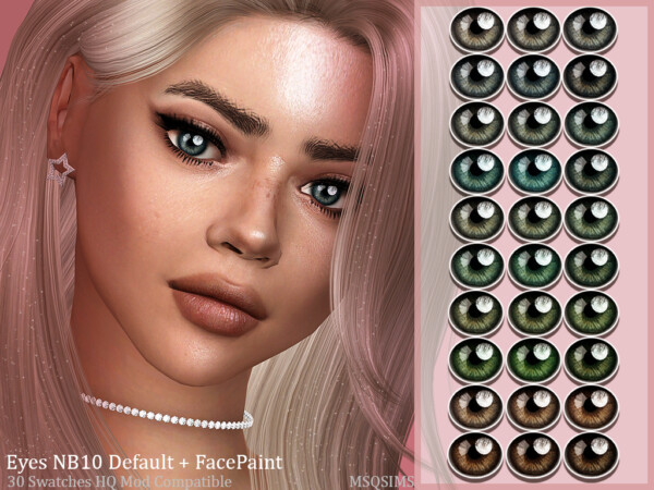 Eyes NB10 and Face Paint from MSQ Sims