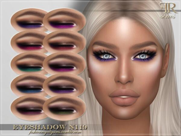 Eyeshadow N119 by FashionRoyaltySims from TSR