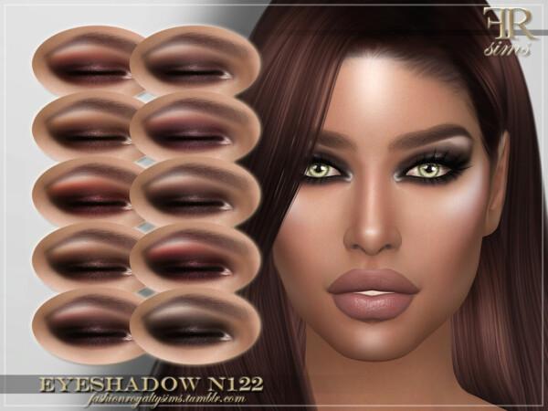 Eyeshadow N122 by FashionRoyaltySims from TSR