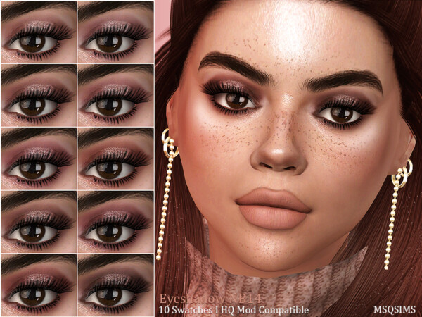 Eyeshadow NB14 from MSQ Sims